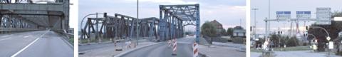 Anfahrt von Hamburg City durch die Speicherstadt.